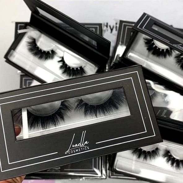 3d lash and eyelash boxes supplier