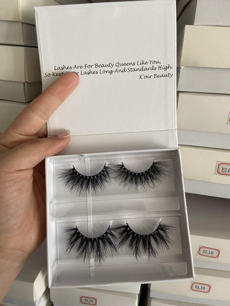 wholesale 3d lassh and eyelash packaging