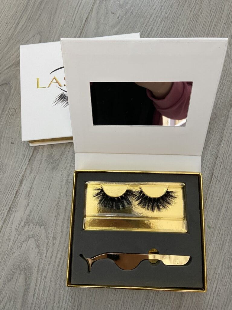 mink lash kits with own logo