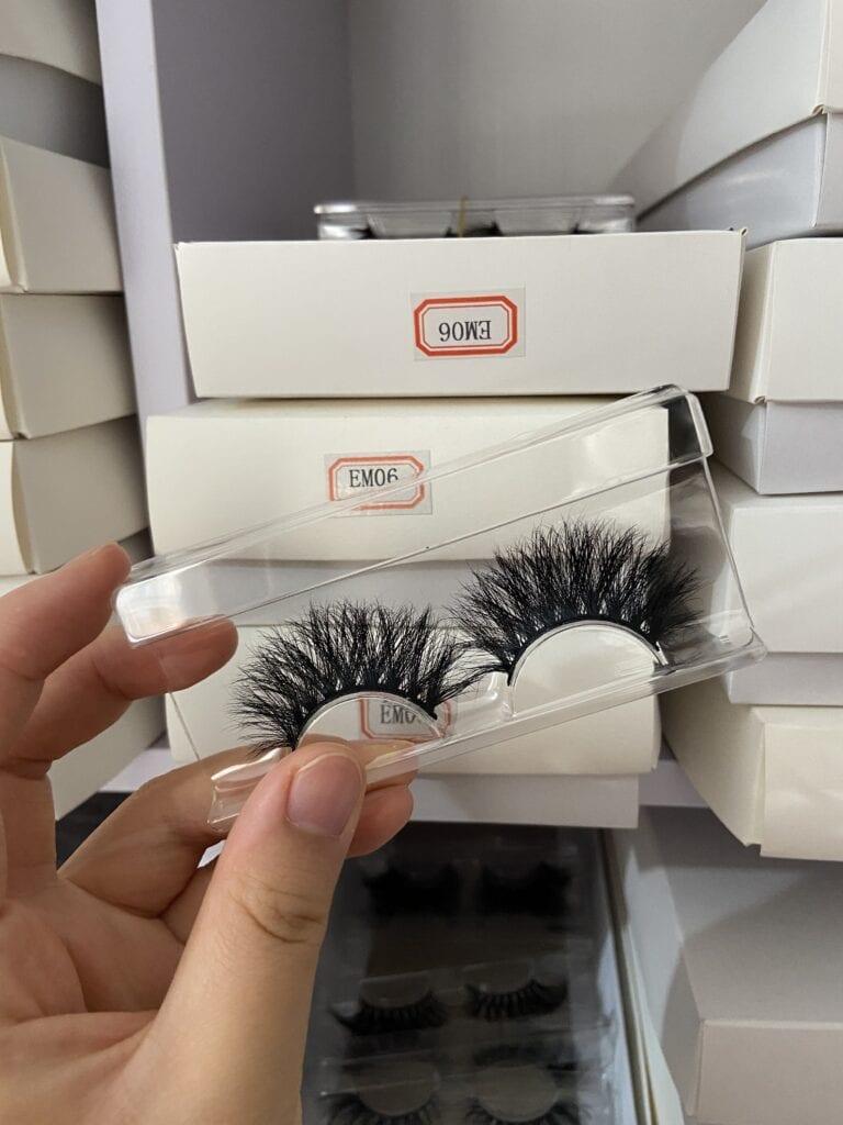 thick eyelash wholesale vendors mink strip eyelashes